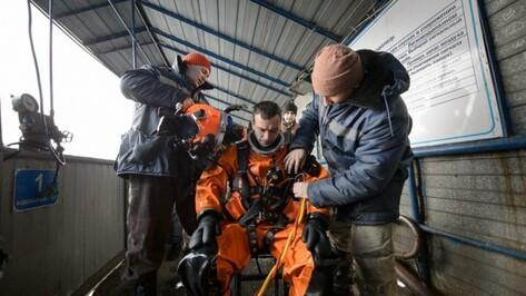 В Воронежской водолазной школе появится шахта глубиной 15 м