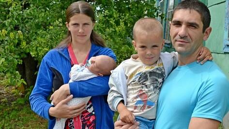 В Грибановку прибыли временные переселенцы из Луганской области
