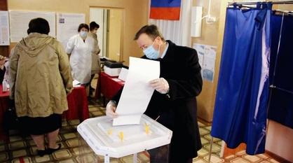 Глава Подгоренского района проголосовал на выборах в Госдуму РФ