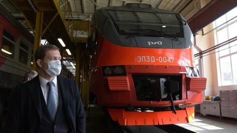 РЖД отменили ряд поездов между Воронежем и областными центрами