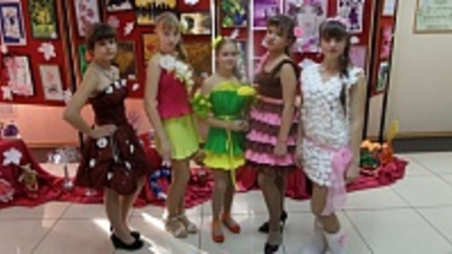 Таловские школьницы стали призерами межмуниципального фестиваля дизайнеров