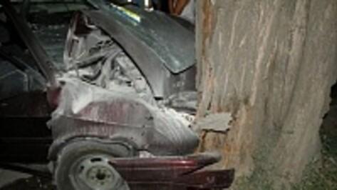 В Воронежской области неизвестный парень сгорел в аварии