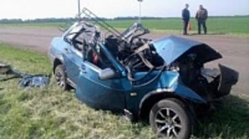 В Воронежской области в ДТП погиб мужчина