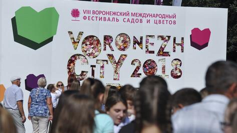 В Воронеже 8-й фестиваль «Город-сад» собрал 280 тыс посетителей