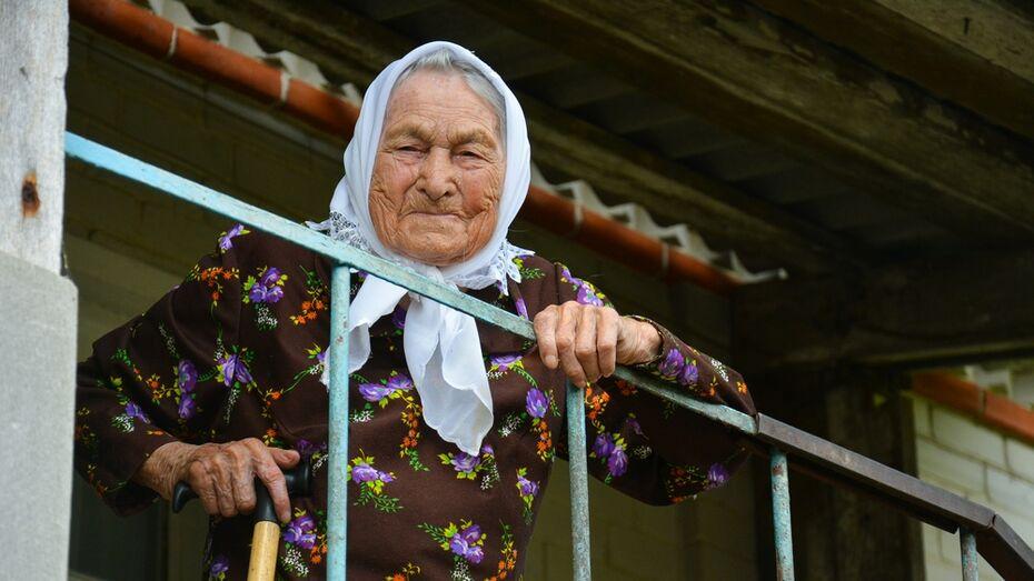 Старейшая жительница Острогожского района отметит 104-й день рождения