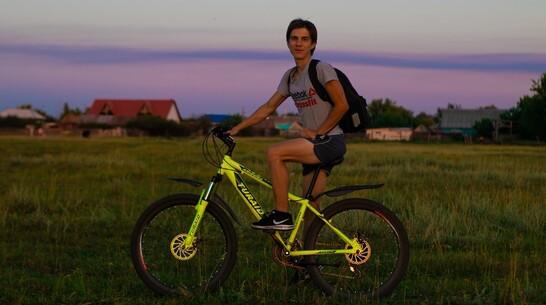 Житель Поворинского района совершил велопутешествие длиной 150  км