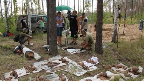 Воронежские поисковики обнаружили 3 расстрельные ямы в Дубовке