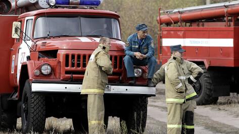 Воронежские пожарные получат 43 млн рублей на новую технику