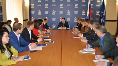 Воронежские единороссы подписали меморандум о честной борьбе на выборах
