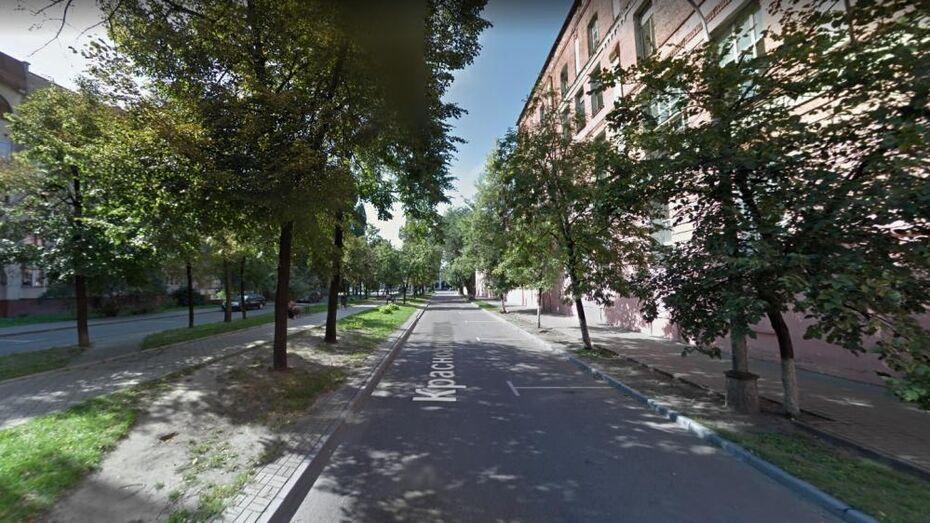 Часть улицы в центре Воронежа перекроют на 4 часа