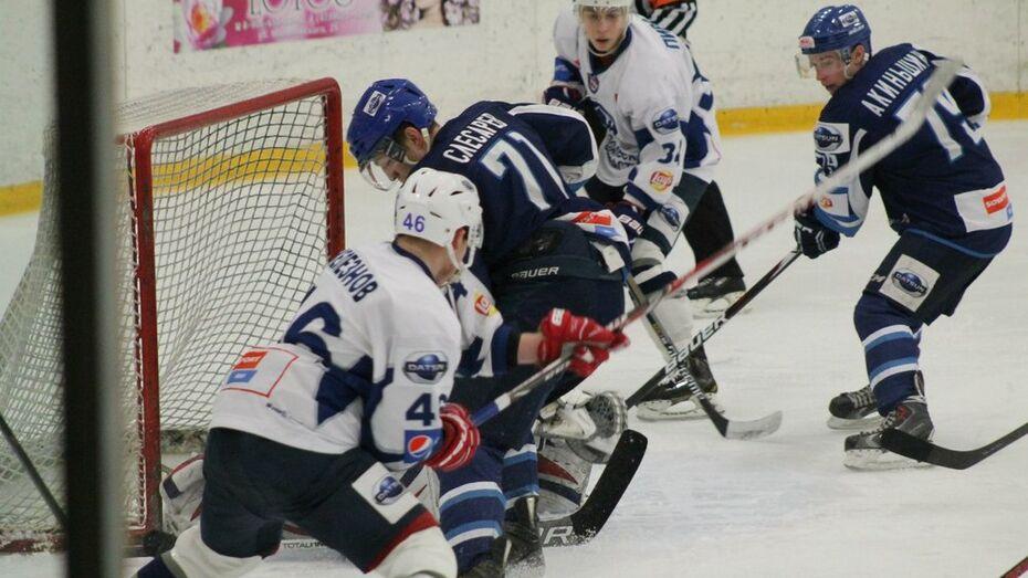 Хоккеисты «Россоши» во второй раз обыграли «Дмитров»