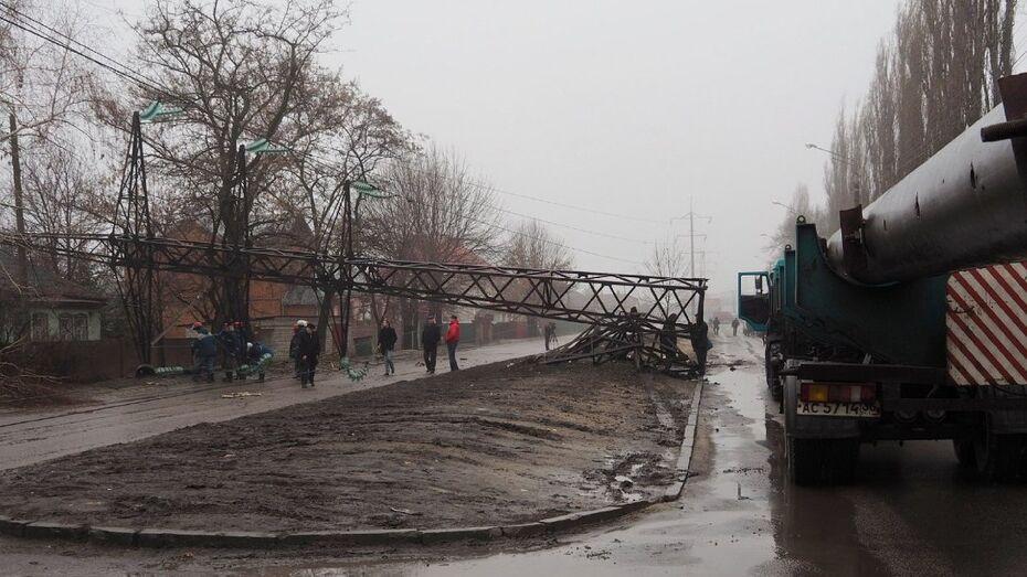 Хроника РИА «Воронеж». Что случилось с воронежским электричеством