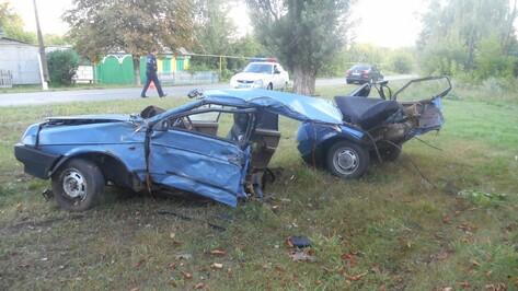 Жительница Воронежа погибла при опрокидывании «девятки»