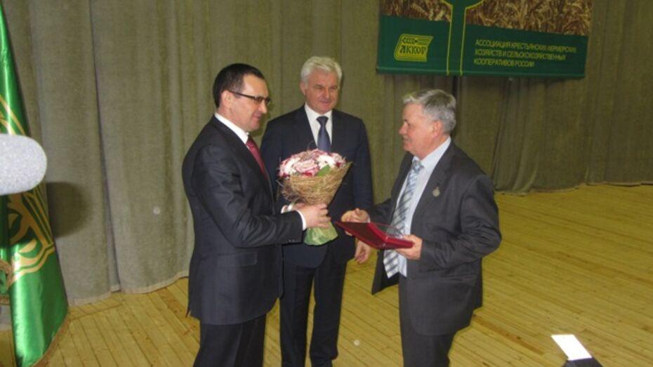 Эртильский фермер стал «Почетным работником агропромышленного комплекса России»