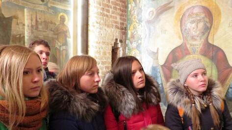 Острогожским школьникам подарили путешествие по Золотому кольцу