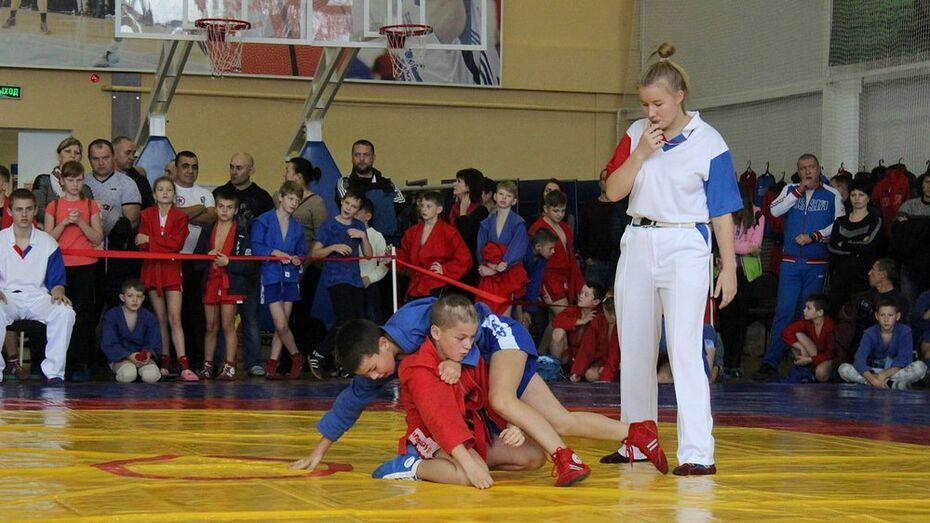 В Таловой областной турнир по самбо пройдет 21 декабря