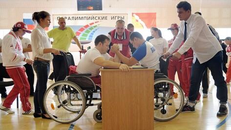 В Воронежской области прошли межрегиональные паралимпийские игры
