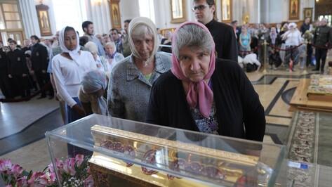 Мощам князя Владимира в Воронеже поклонились 20 тыс человек