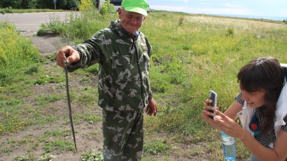 Спасатели предупредили об активности змей в Воронежской области