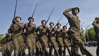 Более 100 военных выйдут на парад Победы в Воронеже в форме образца 1943 года