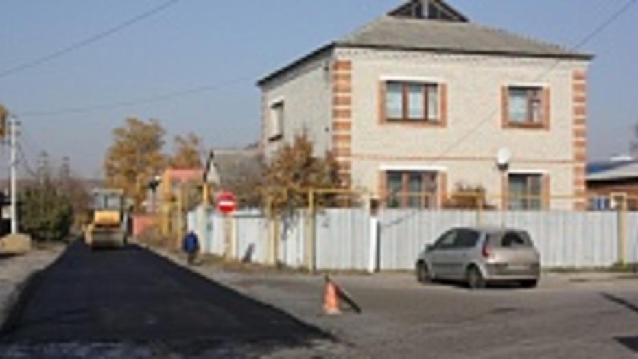 В Ольховатке на ремонт дорог потратили более миллиона рублей