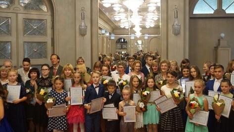 Лауреатами премии правительства Воронежской области стали 30 учащихся школ искусств