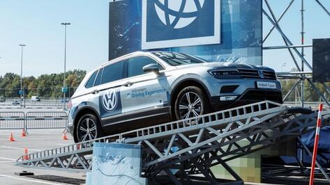 Volkswagen Driving Experience прошел в Воронеже