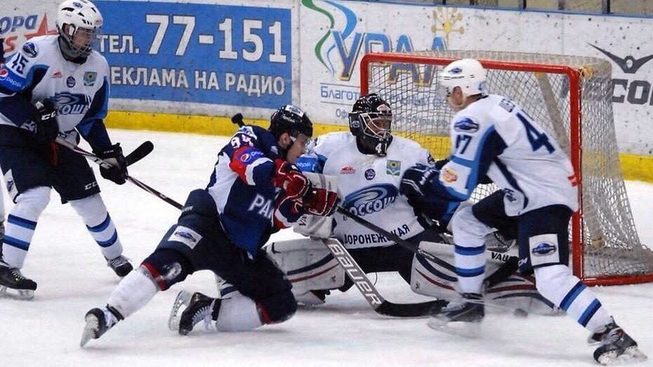 ХК «Россошь» отыгрался с 0:2 и выиграл у «Ракеты»