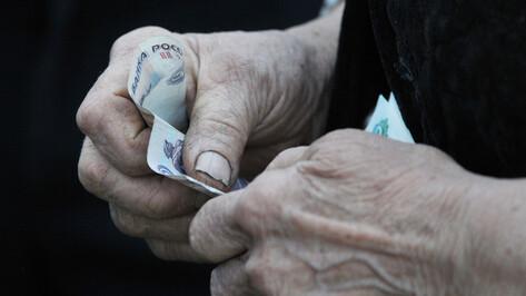 В Воронежской области грабитель сжалился над пенсионеркой и вернул ей 1 тыс рублей