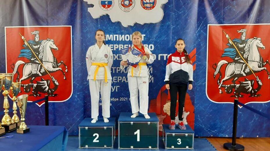 Воробьевские спортсмены выиграли 3 «золота» первенства ЦФО по тхэквондо