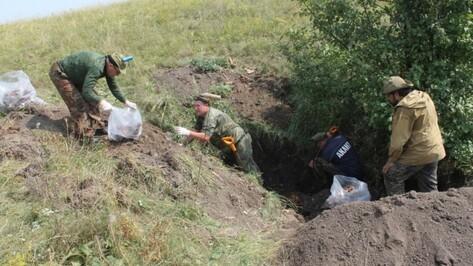 В воронежском «Дивногорье» эксгумировали останки 17 рабочих трудовых батальонов