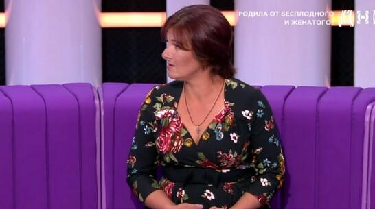 Жительница Репьевки стала героиней ток-шоу «ДНК» на телеканале НТВ