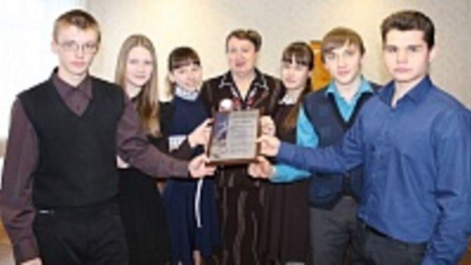 Хохольский лицей стал лауреатом конкурса «100 лучших школ России»
