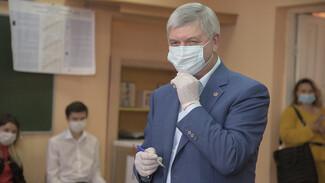 Воронежский губернатор проголосовал на выборах