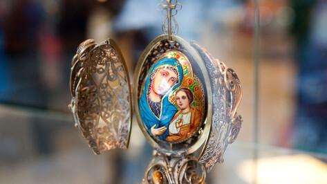 В Воронеже открылась благотворительная выставка-продажа пасхальных сувениров