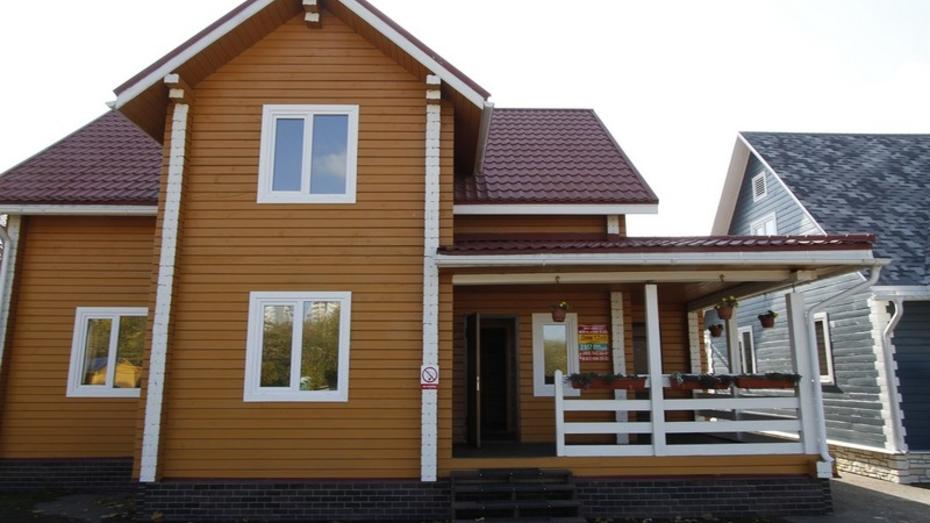 Воронежцы смогут построить деревянные дома за пару месяцев
