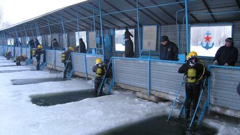 В омут с головой. Как в воронежском водохранилище готовят водолазов для всей России