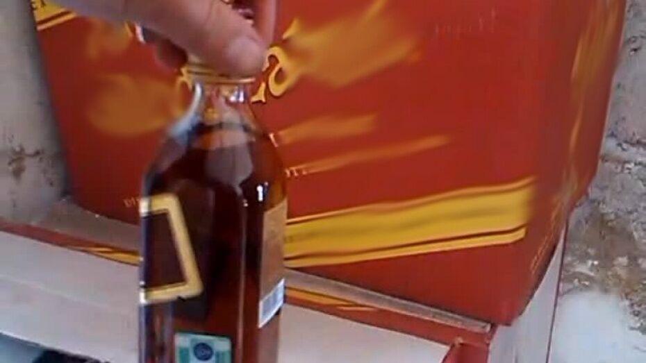 В Воронеже трое бутлегеров ответят в суде за подделку 2 тыс бутылок элитного алкоголя