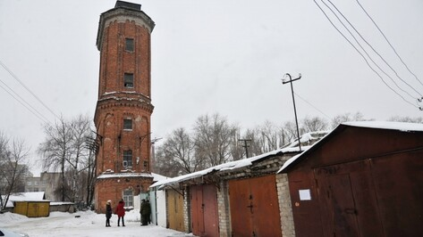Землю у воронежской исторической башни продали за 140 млн рублей