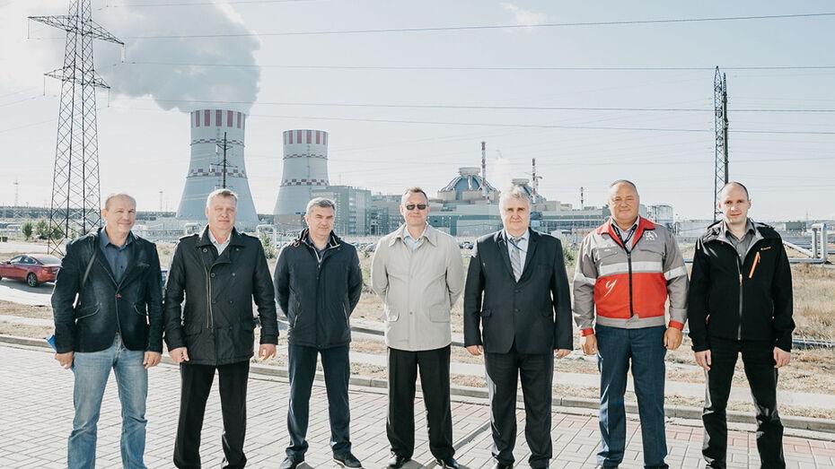 На Нововоронежскую АЭС прибыли ремонтники строящейся Белорусской АЭС