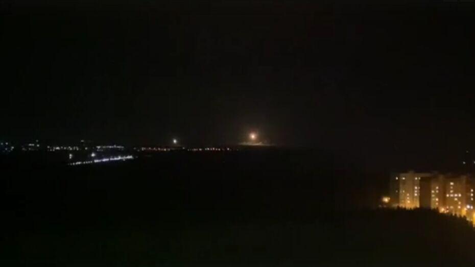 Воронежцев вновь напугали ночные взрывы