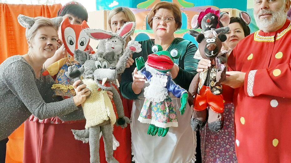 В Таловском районе запустили проект для детей «В гостях у сказки»