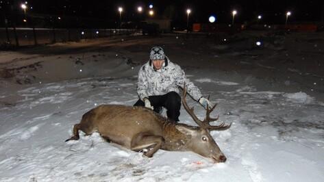Инспекторы Воронежского заповедника поймали оленя на заводе в Липецкой области