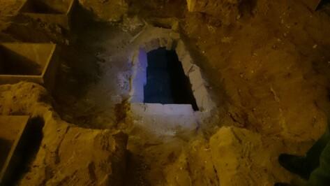 В Свято-Никольском храме Воронежа нашли захоронение девочки