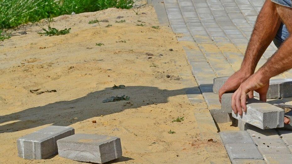 В грибановском селе Малые Алабухи сделают тротуар за 2 млн рублей