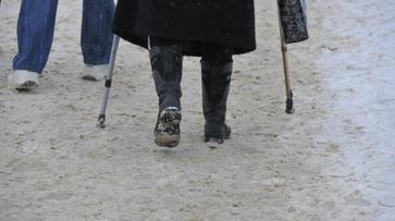 За неделю в больницы из-за гололеда попали 96 жителей Воронежской области