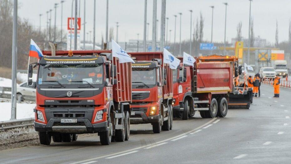 В строительстве обхода Лосево в Воронежской области задействовали более 350 человек