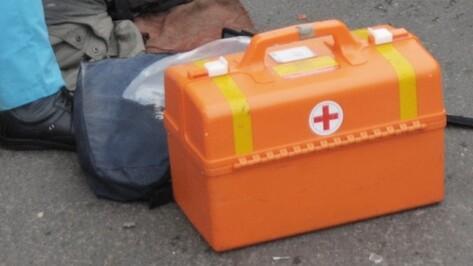 В Лискинском районе водитель иномарки наехал на лежащего на дороге пьяного мужчину