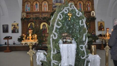Около 1,5 тыс человек пришли на рождественские службы в храмы Павловска