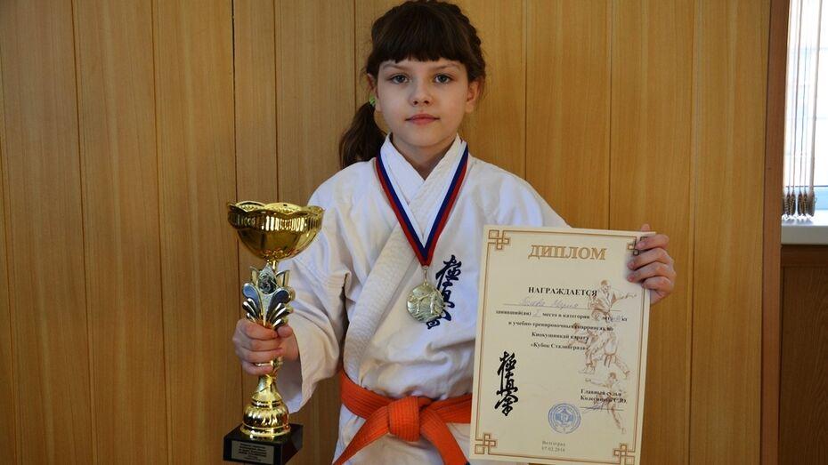 Поворинская каратистка взяла «золото» на межрегиональных соревнованиях